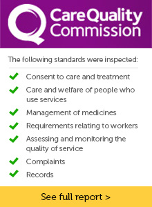Inspected by the Care Quality Commission